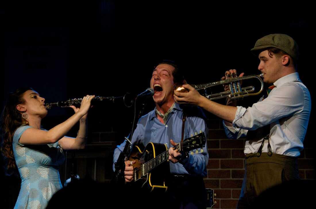 Pokey LaFarge The Birchmere Alexandria, Va. Photo by Bob Boilen for NPR Music