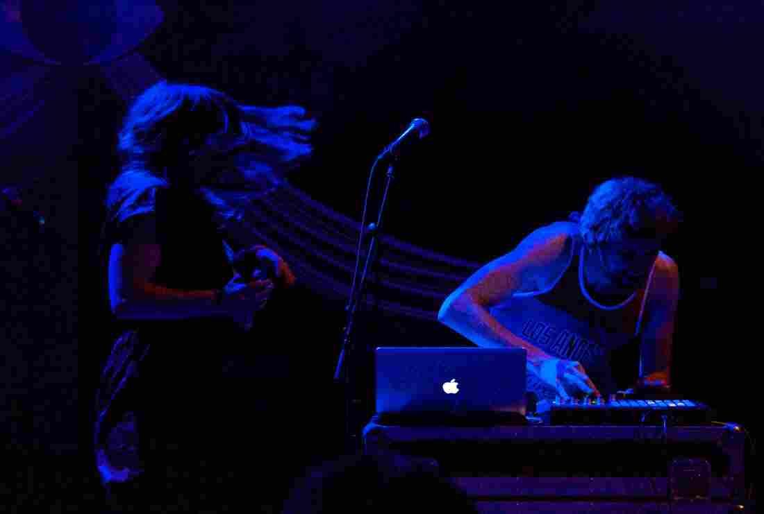 Sylvan Esso 9:30 Club Washington, D.C. Photo by Bob Boilen for NPR Music