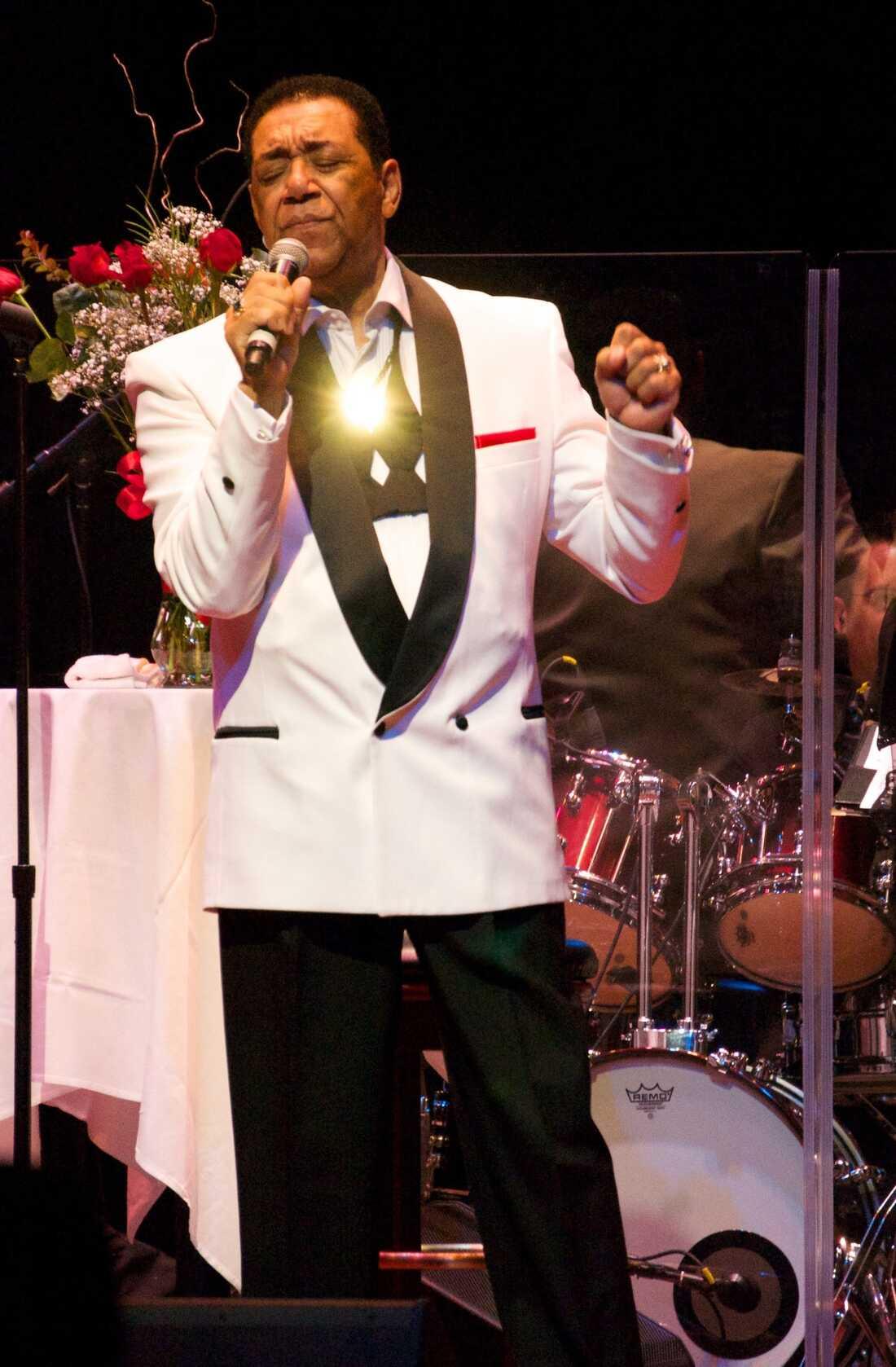 The Flamingos Bethesda Blues & Jazz Supper Club Bethesda, MD Photo by Bob Boilen for NPR Music