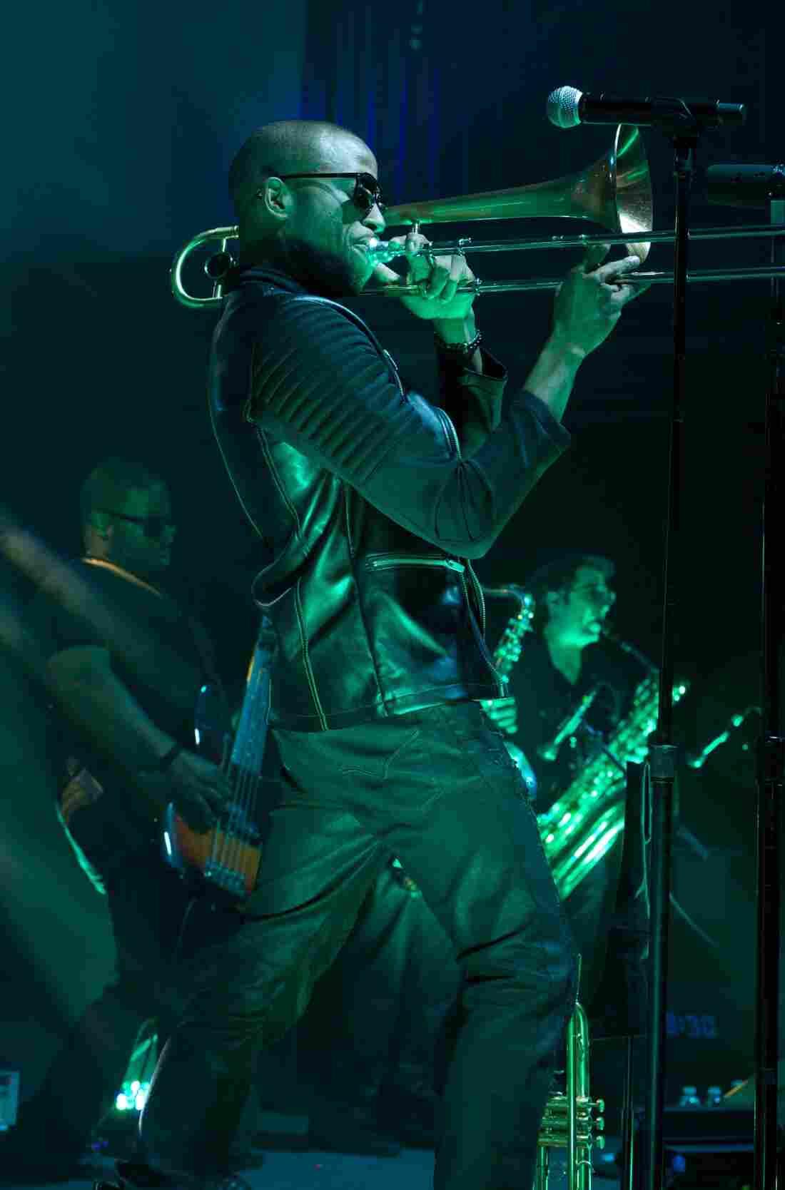 Trombone Shorty & Orleans Avenue 9:30 Club Washington, D.C. Photo by Bob Boilen for NPR Music