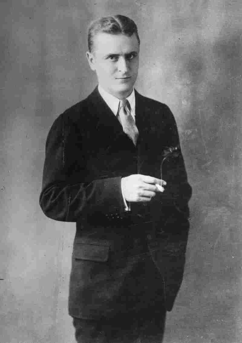 """This portrait of F. Scott Fitzgerald was done in 1925, back when things were going well for the young writer. """"Everything was golden for him early on,"""" says writer Stewart O'Nan, """"and then things started going against him ... it's a spiral."""""""