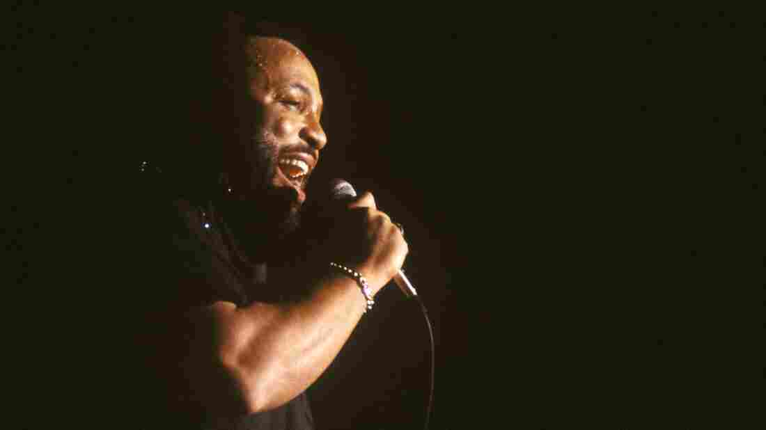 Andraé Crouch performs in 1986. The legendary gospel singer died on Thursday. He was 72.