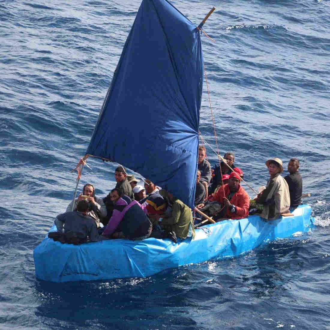 As Rumors Spread, More Cubans Try To Reach The U.S. By Sea