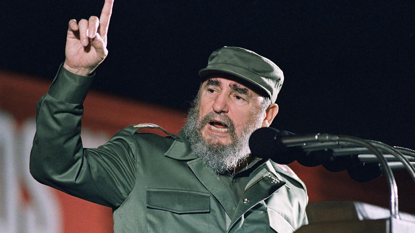 Fidel Castro 1959 Cuban Revolution Former Cuban President...