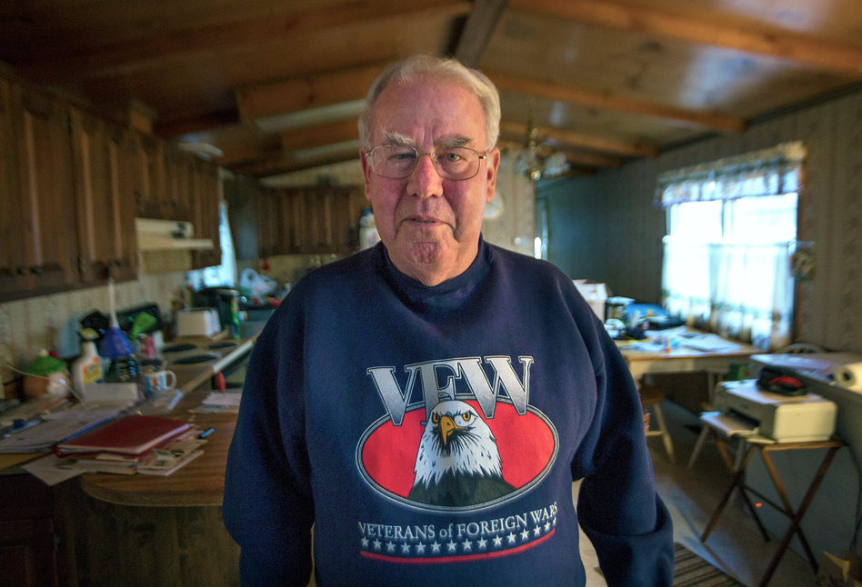 George Murray, who served in Vietnam, was able to access his medical benefits from the U.S. Department of Veteran Affairs relatively easily while living in Boston. But veterans living in other parts of Massachusetts, like Cape Cod, have more difficulty. Across the U.S., VA data show the unevenness in its benefit spending. (Jesse Costa/WBUR)