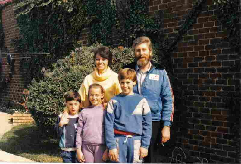 This 1987 photo is the last one to show the family before Martin fell ill. He is at the right.