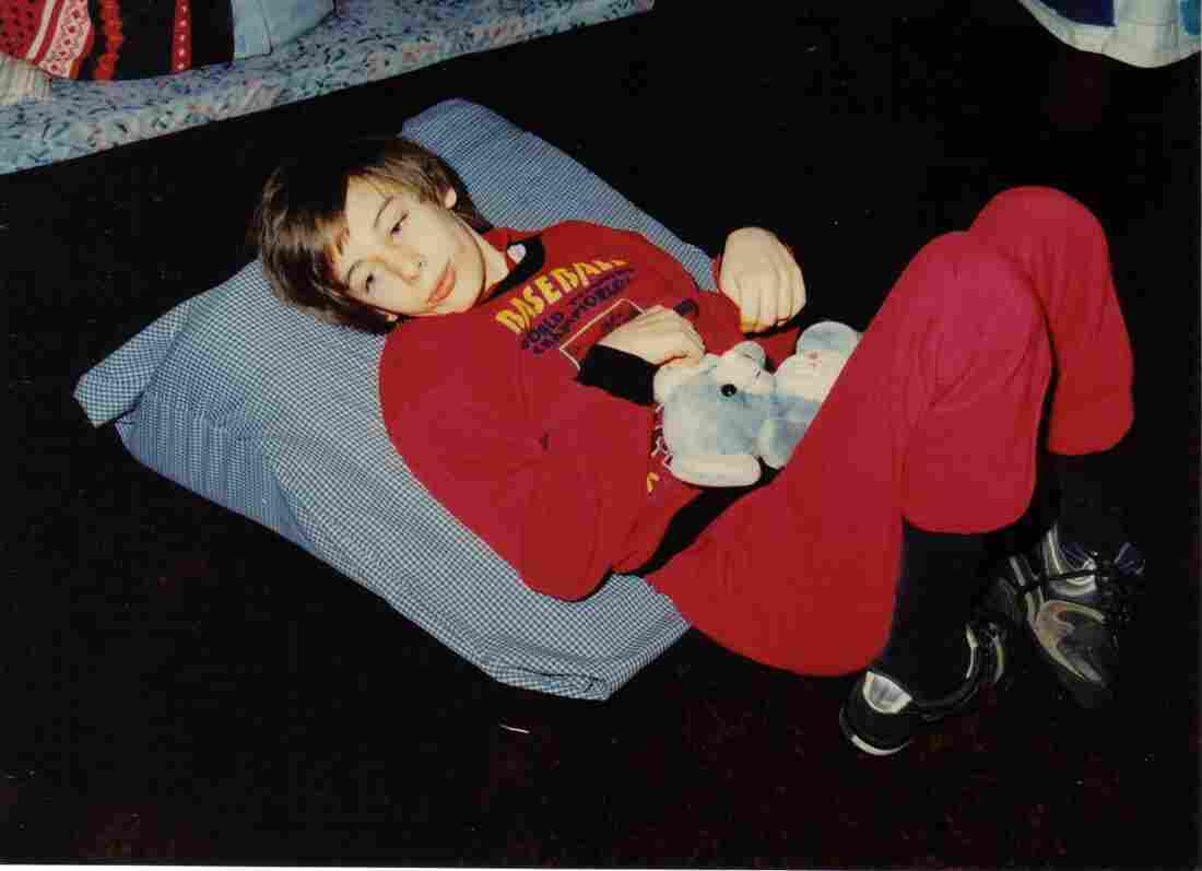 Martin Pistorius sometime between 1990 and 1994, when he was unable to communicate.
