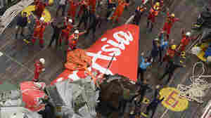 AirAsia Tail Recovered, But No Sign Of 'Black Box' Recorders