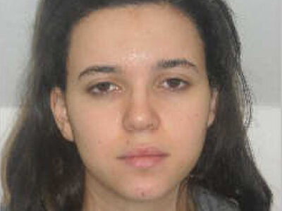 Hayat Boumddiene seen in a 2010 mug shot.