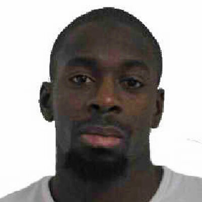 A photo provided by the Paris Police Prefecture Friday, Jan. 9, 2015 shows Amedy Coulibaly.