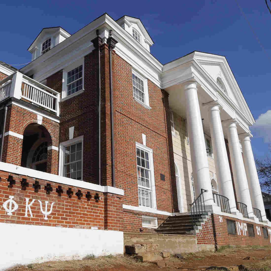 U.Va. Reinstates Fraternity Accused In 'Rolling Stone' Rape Story