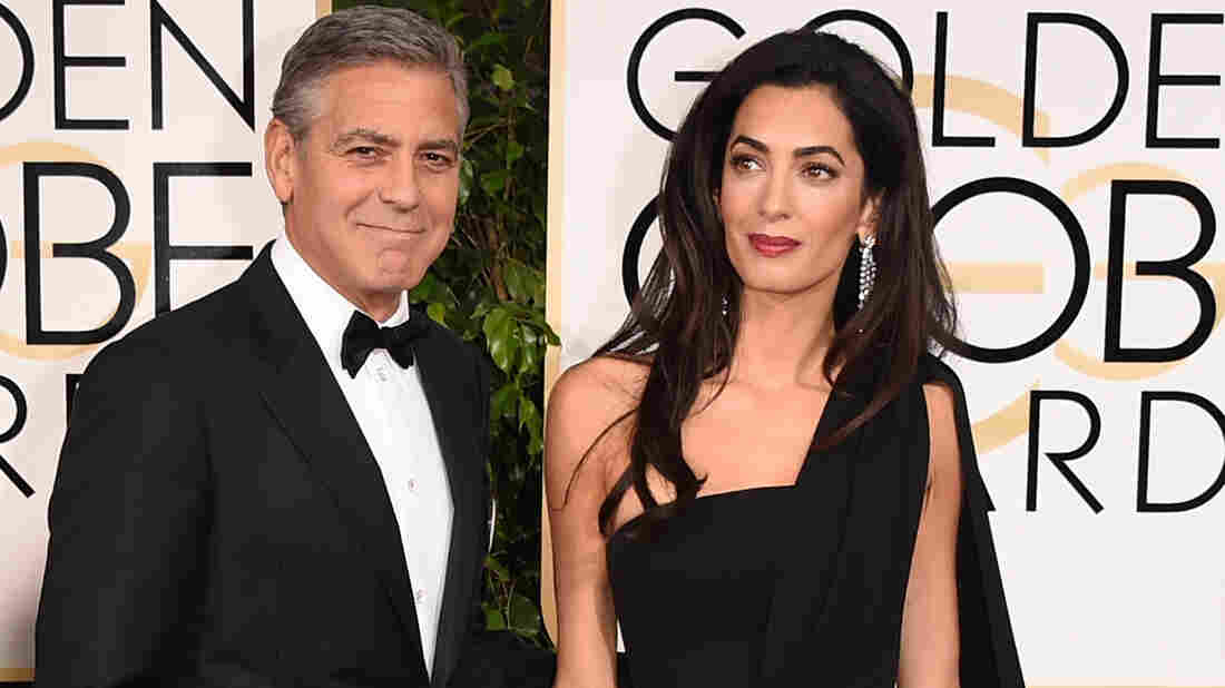 Actor George Clooney and his wife Amal looked pretty good on the red carpet.