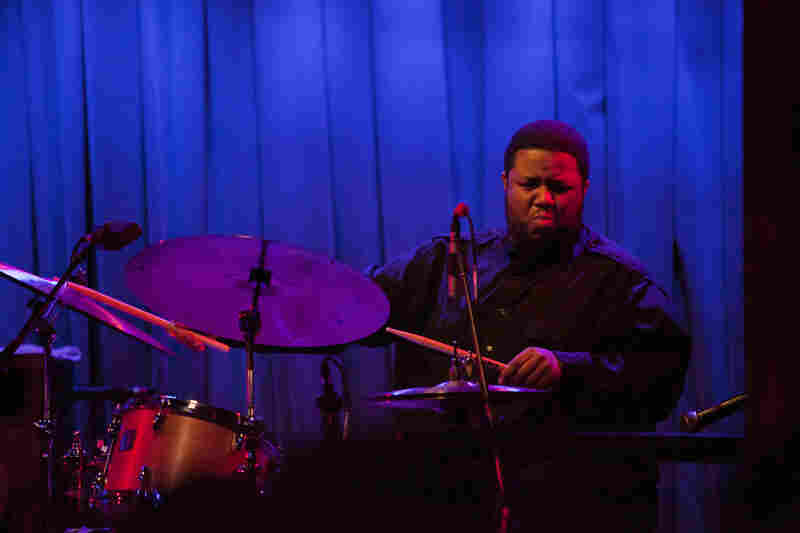 Tyshawn Sorey, a drummer comfortable in many contexts, showcased his piano trio at Winter Jazzfest.