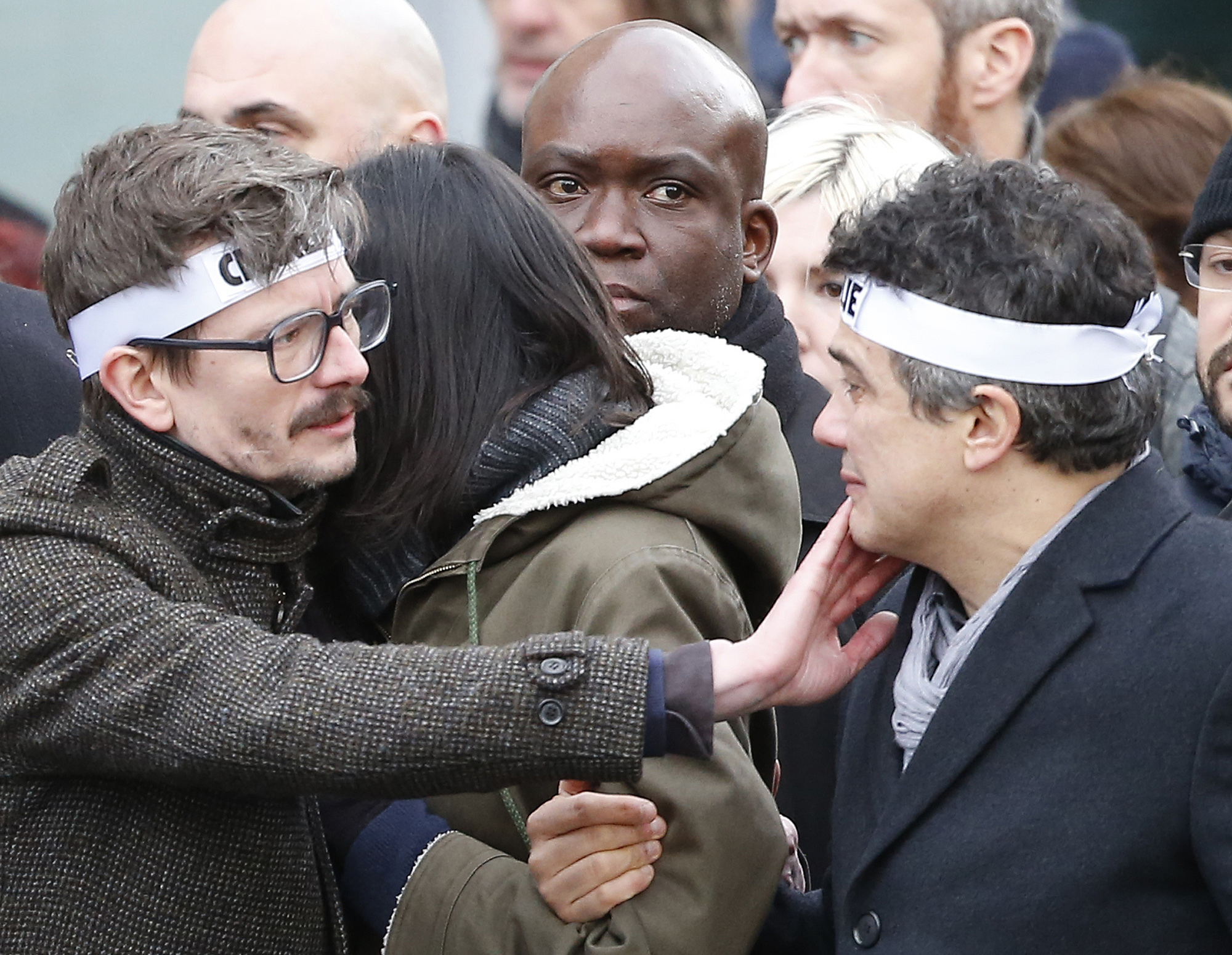 Charlie Hebdo's Editor On New Issue: 'We're Happy To Have ... Done It'