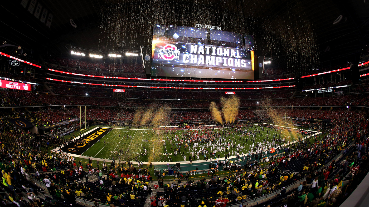 timeless design caac2 e4a99 College Football Championship Sets A New Cable Ratings Record