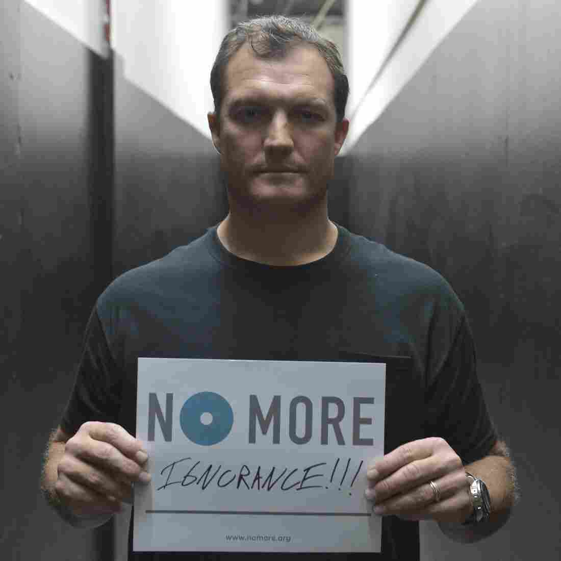 "NFL commentator and former strong safety John Lynch appears in new public service announcements from the ""No More"" project."