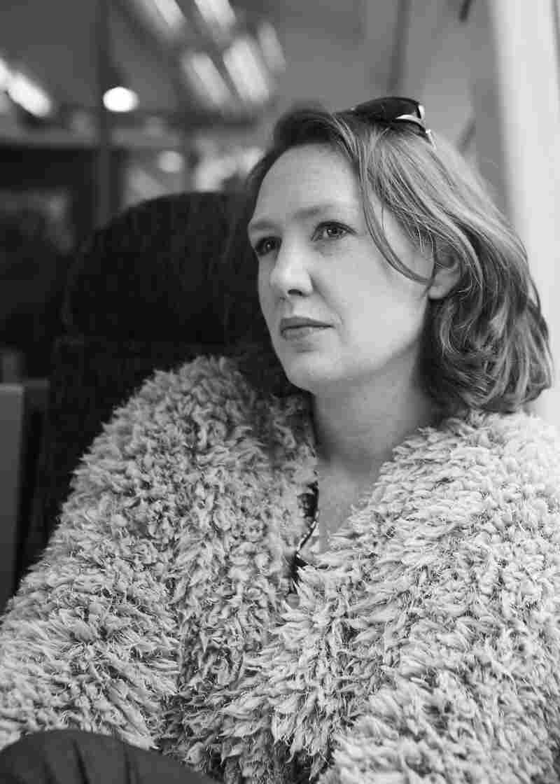 """The Girl on the Train is Paula Hawkins' first thriller. """"Once I started writing this book I knew this was what I was supposed to be doing,"""" she says."""
