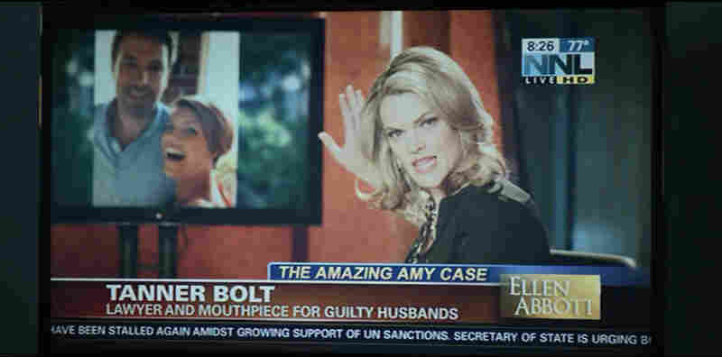 Missi Pyle plays cable TV host Ellen Abbott, a character that Gone Girl director David Fincher loosely based on Grace.