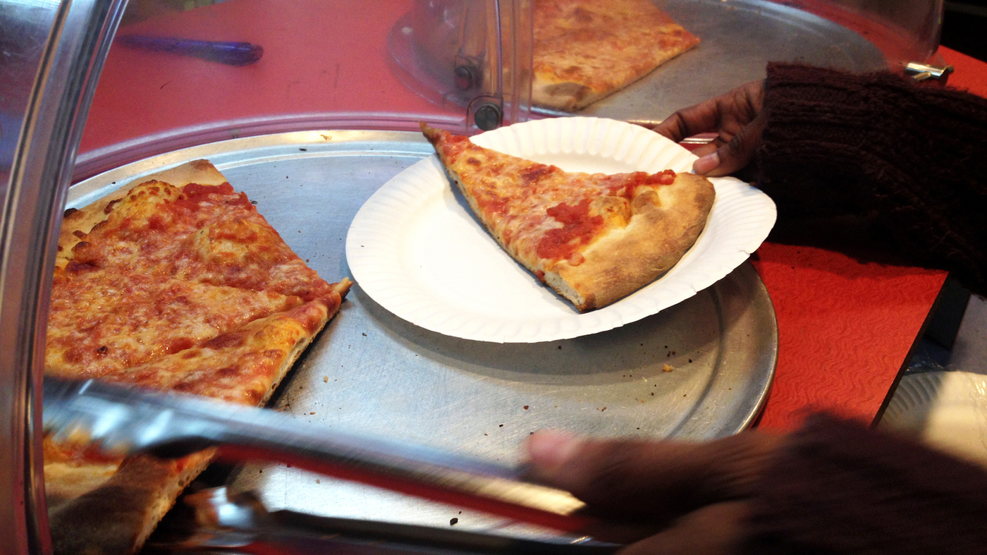 Philadelphia Pizza Lovers Pay It Forward One Slice At A Time The Salt Npr