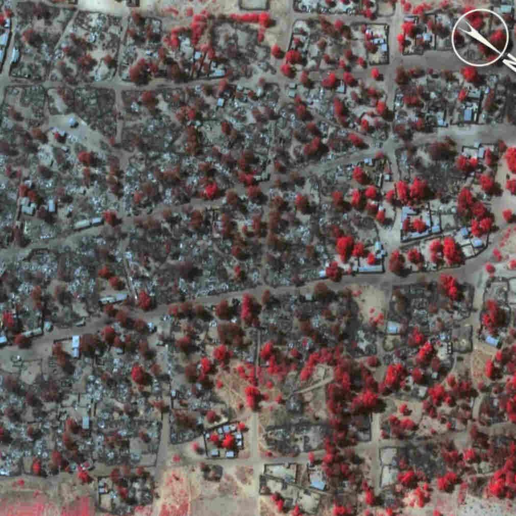 Satellite Images Show 'Catastrophic' Destruction Of Boko Haram Attack In Nigeria