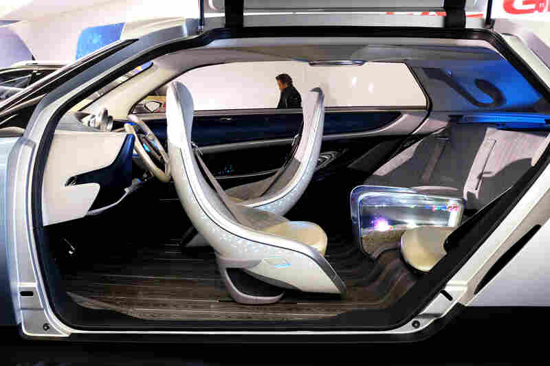 Chinese Automaker Gac Group S Witstar Concept Autonomous Electric Car Features A Fish Tank Armrest In The