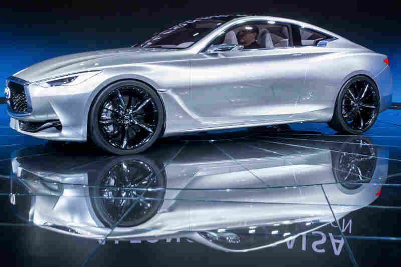 The Infiniti Q60 Concept Car Is Unveiled