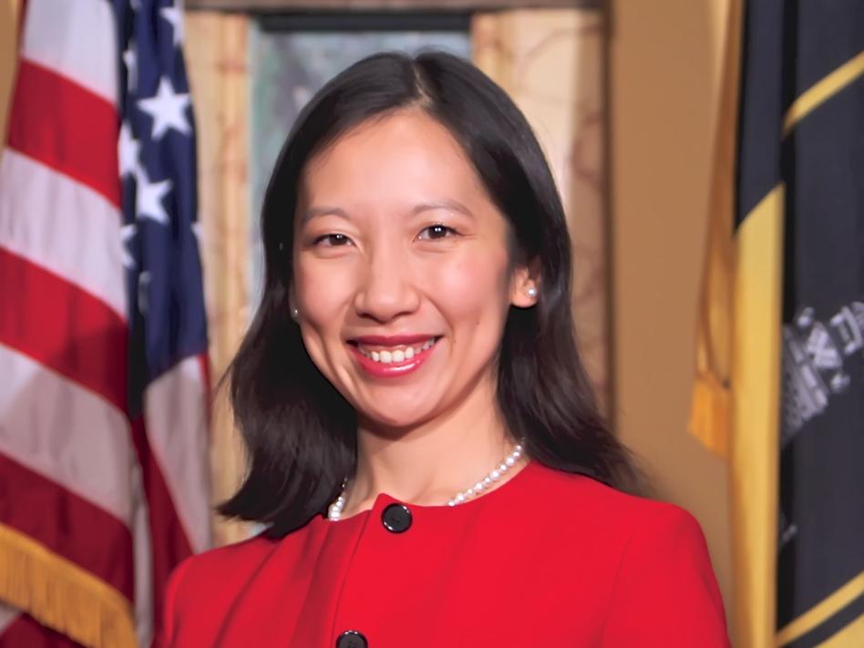 Dr. Leana Wen became Baltimore's health commissioner on Thursday. (Mark Dennis/City of Baltimore)
