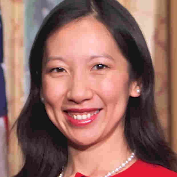Dr. Leana Wen became Baltimore's health commissioner on Thursday.