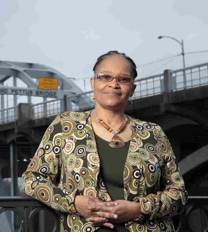 Lynda Blackmon Lowery turned 15 years old while participating in the 1965 civil rights march from Selma to Montgomery.
