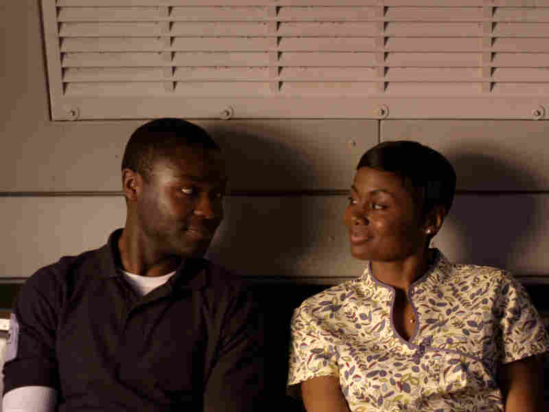 David Oyelowo and Emayatzy Corinealdi in Middle of Nowhere.