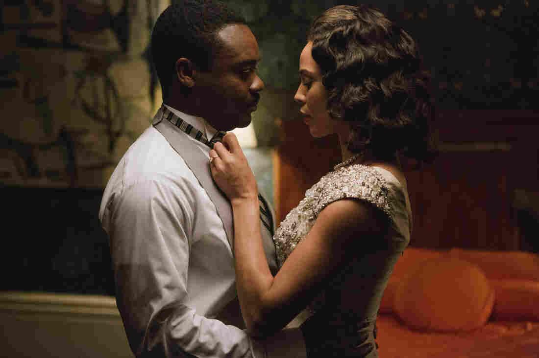 David Oyelowo (left) as Dr. Martin Luther King, Jr. and Carmen Ejogo as Coretta Scott King in Selma.
