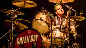 Green Day's Tré Cool doesn't care for the way you're looking at him right now.