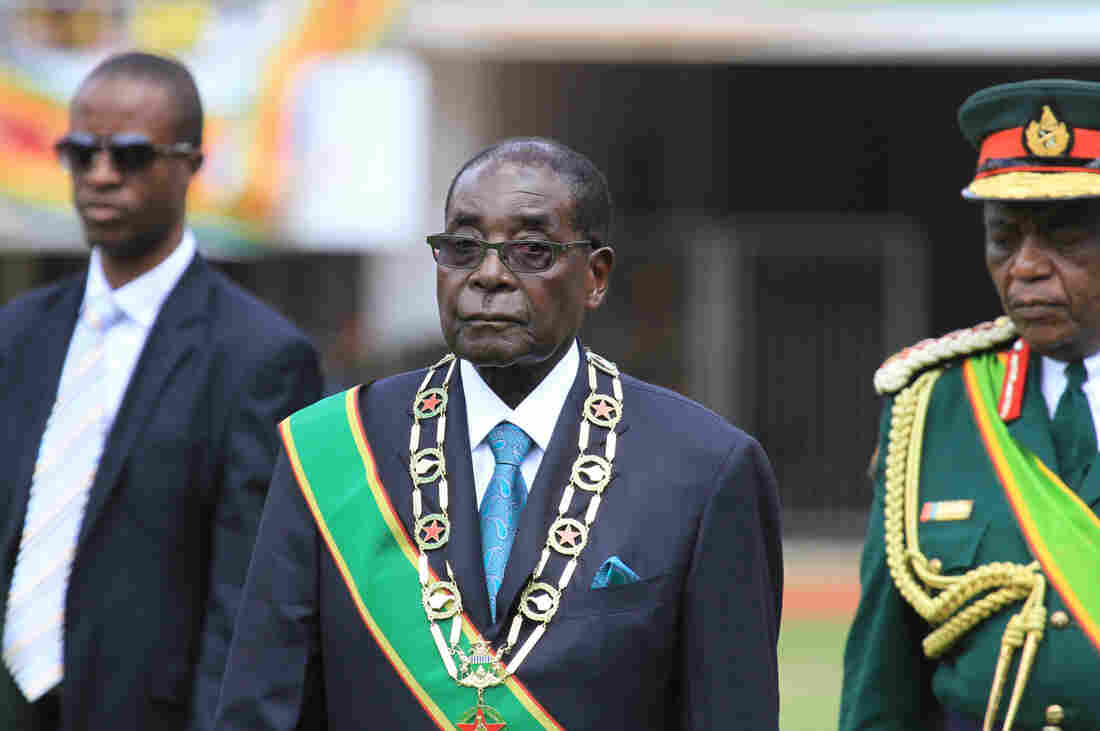 Westlake Legal Group ap157982150204_custom-d0dc2a0e375a1585f1b09d0c1cd44721fdd178fd-s1100-c15 Robert Mugabe, Veteran President Of Zimbabwe, Dead At 95
