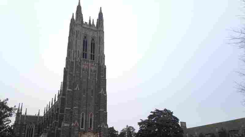Duke University's Muslims students will issue their call to prayer today outside the Duke Chapel in Durham, N.C. On Thursday, the university reversed course on allowing the traditional adhan from the chapel's bell tower.