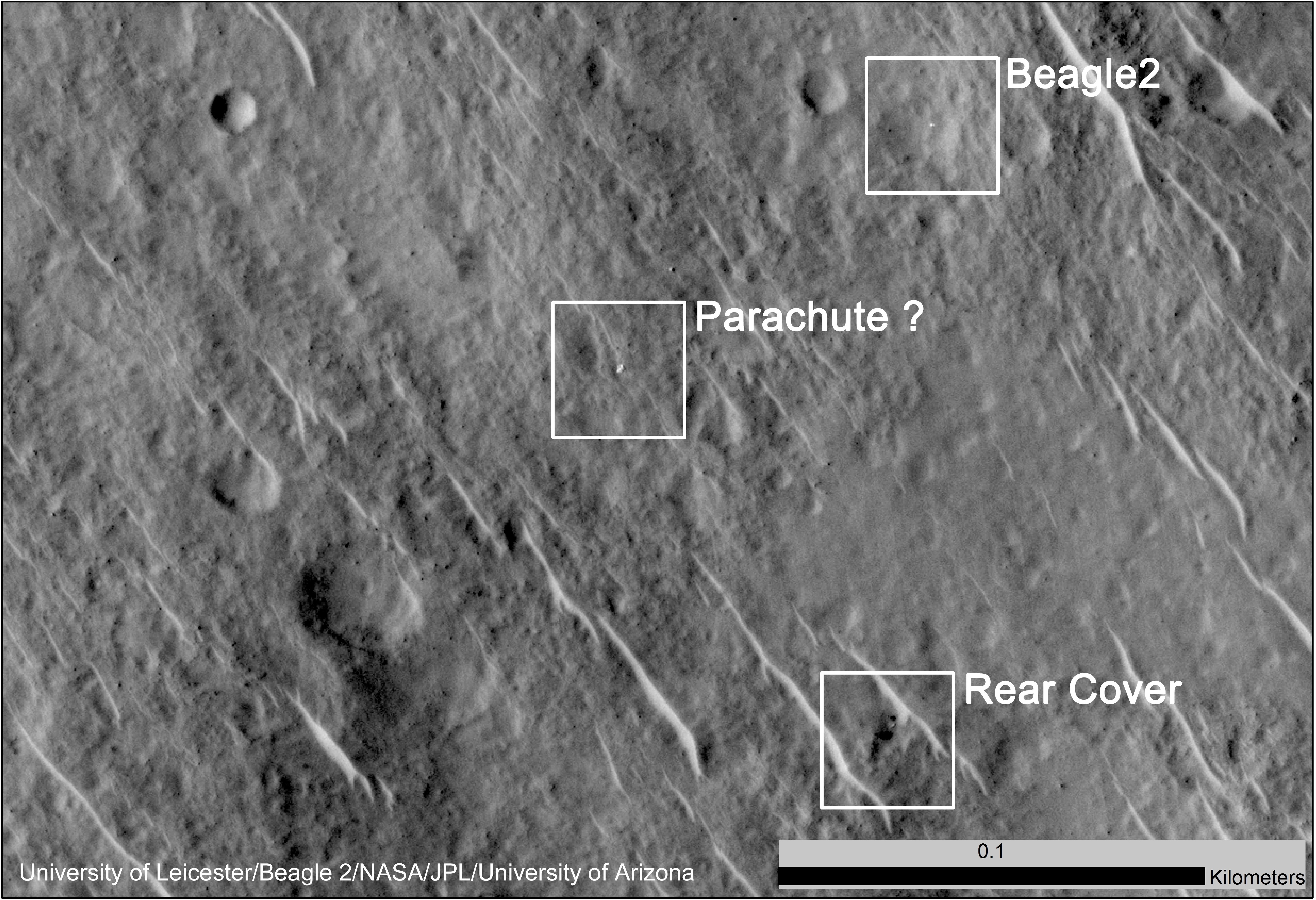 Long-Lost European Spacecraft Spotted On Mars By NASA Probe