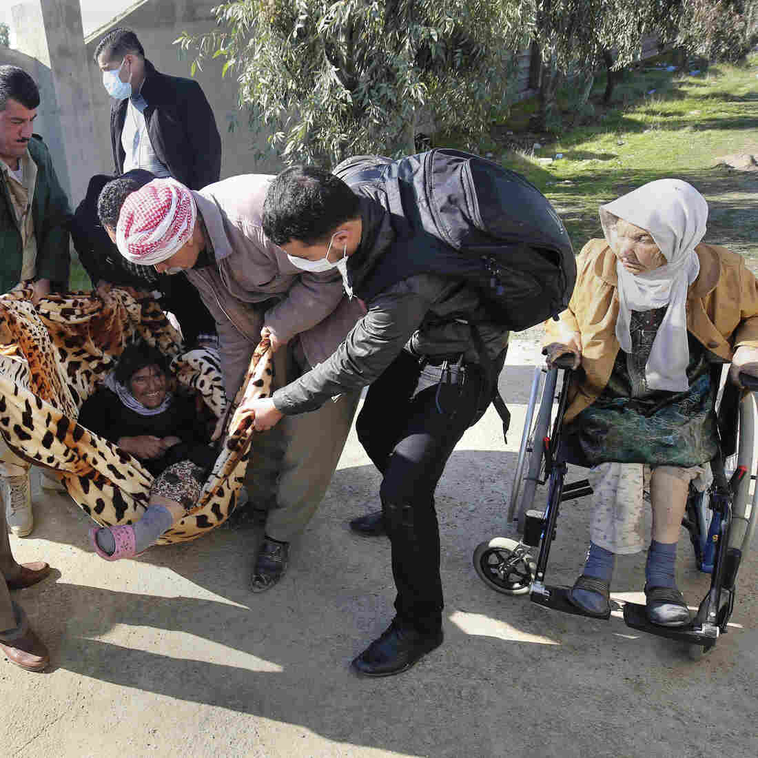 ISIS Frees 200 Elderly Yazidis; Reportedly 'Too Expensive To Feed'