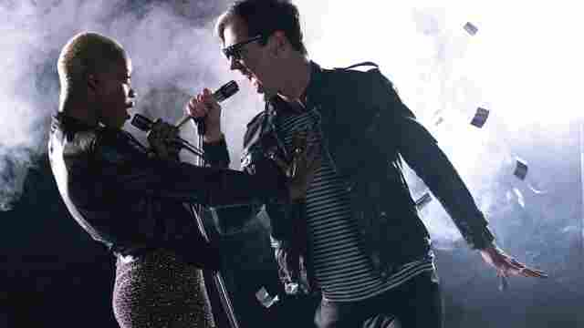 Noelle Scaggs and Michael Fitzpatrick provide the vocals for the band Fitz and the Tantrums.