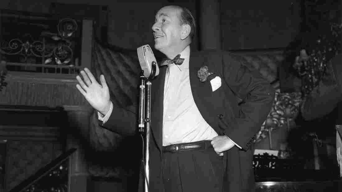 Actor, playwright and composer Noel Coward rehearses for a show in 1951. A rare recording of Coward introducing his play Peace in Our Time is just one of the millions of sounds and recordings the British Library is looking to preserve.