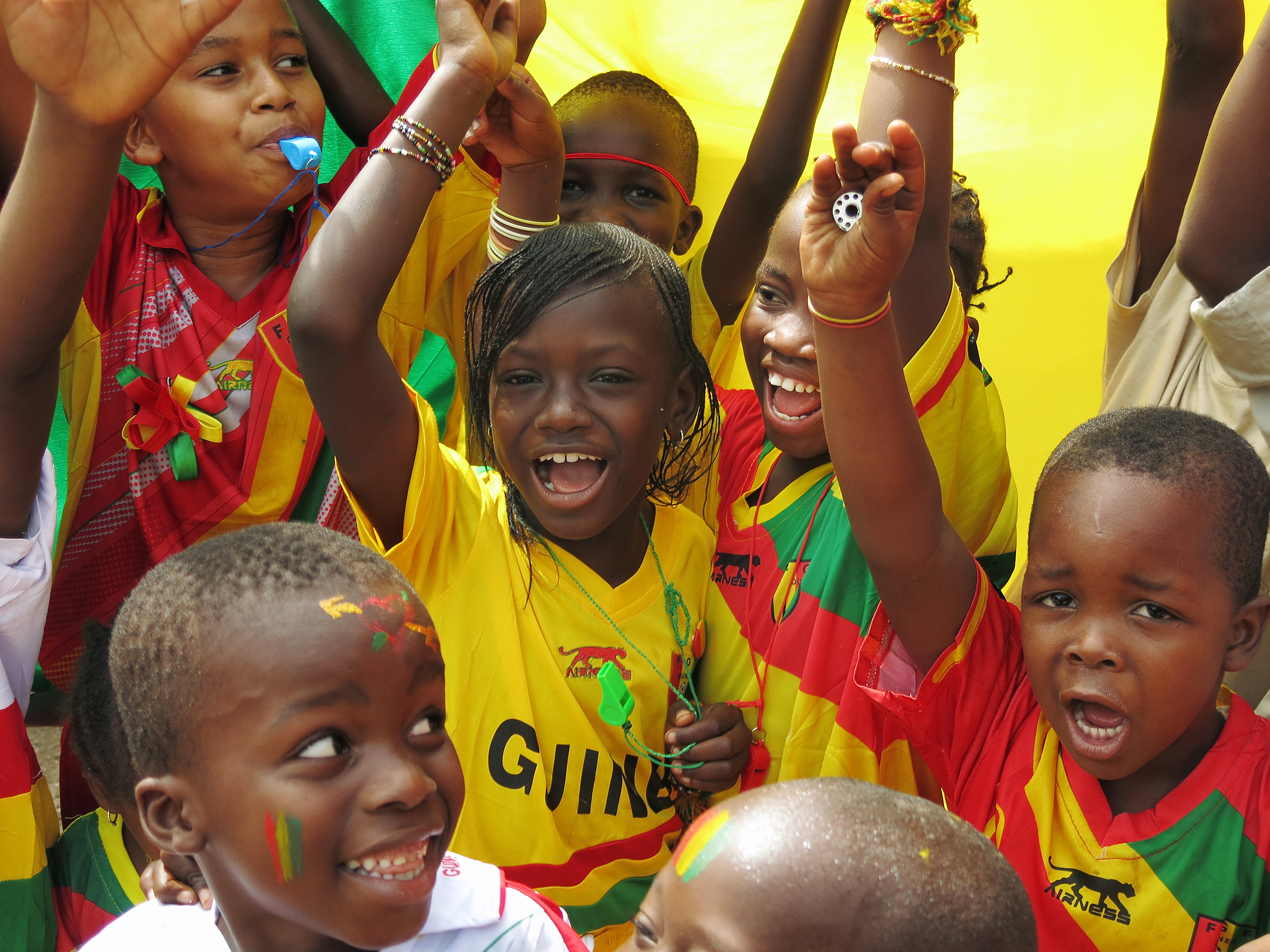Africa's Soccer Tourney Takes Guinea's Mind Off Ebola