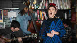 Tiny Desk Concert with Rubblebucket on November 18, 2014.