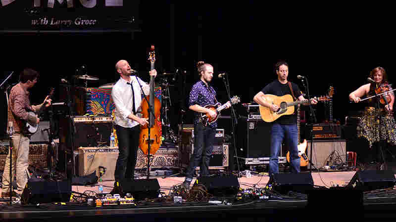 Yonder Mountain String Band On Mountain Stage