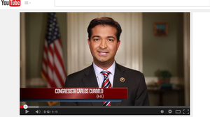 Florida Rep. Carlos Curbelo gave the Spanish-language response to President Obama's State of the Union address. He included his support for an immigration overhaul. The English response was silent on the issue.