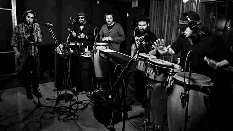 The Budos Band performs live on KCRW.