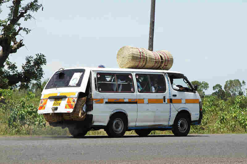 The matatu is the passenger van of Kenya. The vehicles' operators have a reputation for driving dangerously.