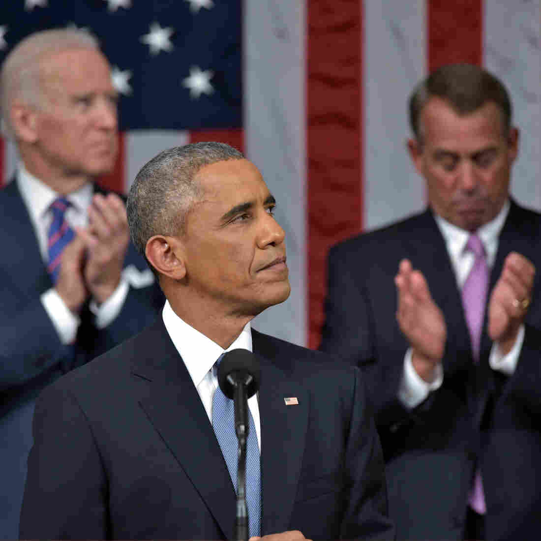 Obama State Of The Union Seeks To 'Turn The Page' To A Brighter Chapter