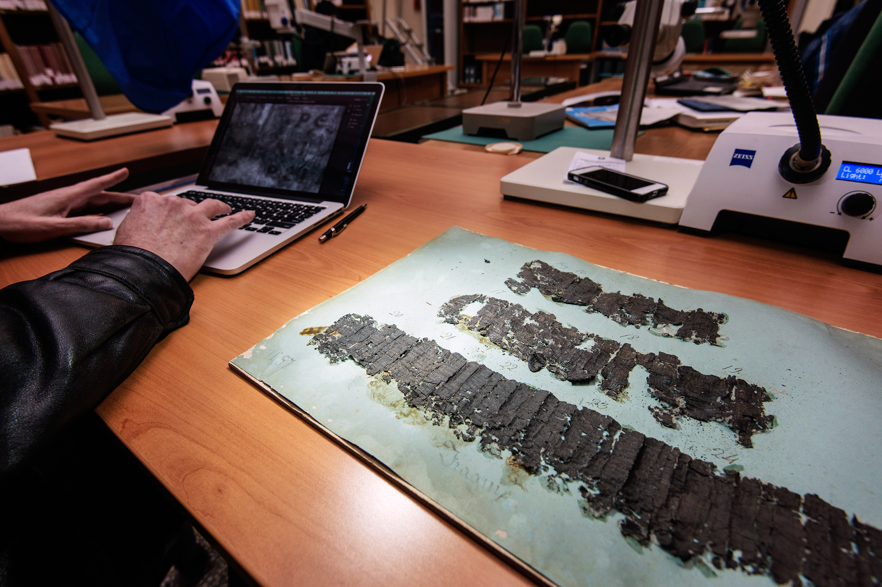 X-Rays Open Secrets Of Ancient Scrolls