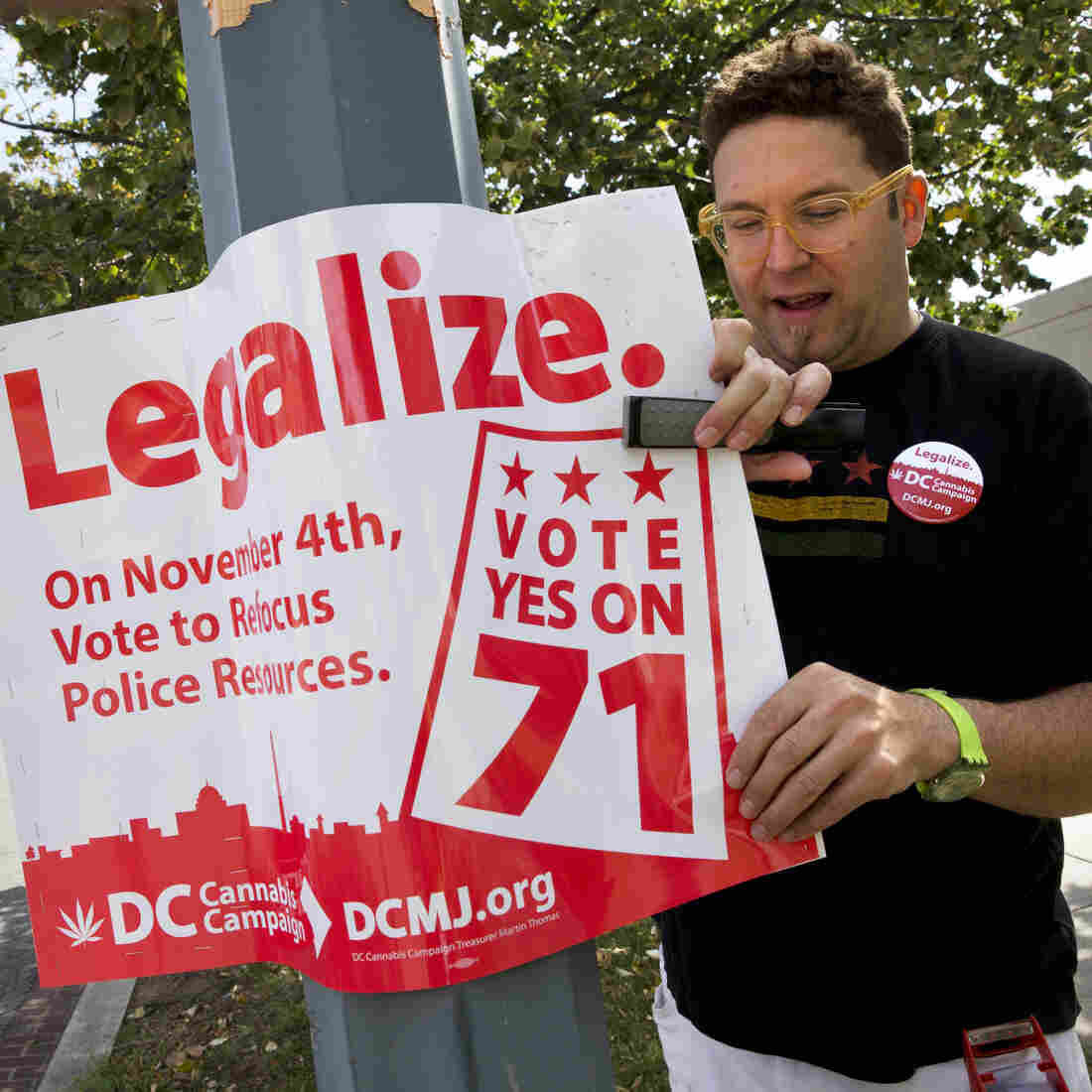 Voters Said Yes, But D.C. And Congress Continue To Spar Over Pot