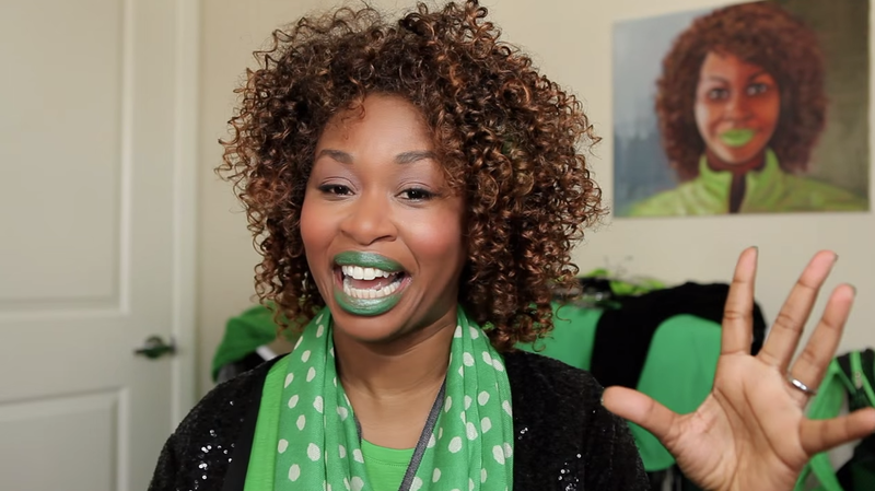 """Self-proclaimed """"Queen of YouTube"""" GloZell Green."""