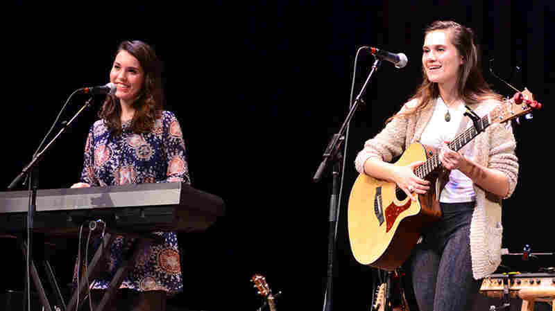 Lily & Madeleine On Mountain Stage