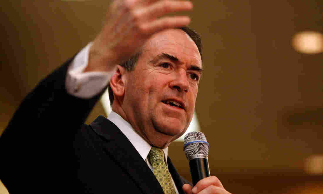 """Former Arkansas Gov. Mike Huckabee was a Republican presidential hopeful in the 2008 election. He writes that he wants his book God, Guns, Grits, and Gravy to introduce Americans to life in """"flyover country."""""""